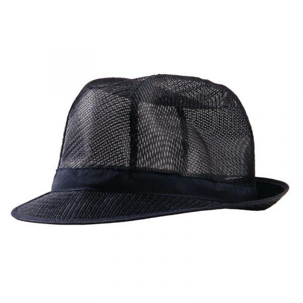 Unisex Black Trilby