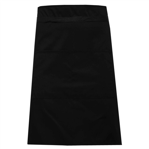 Half apron with pocket