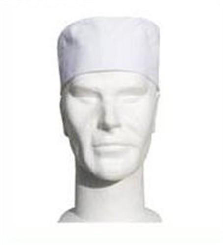Chefs white skull cap