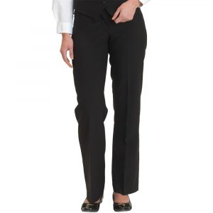 Dennys Woman' s Black Washable Trousers