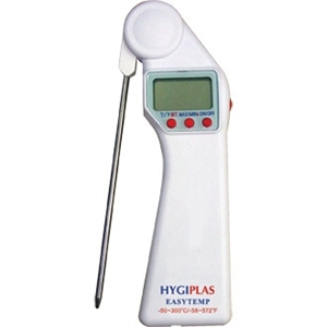 Hygiplas Easytemp Thermometer. White (Bakery & Dairy)