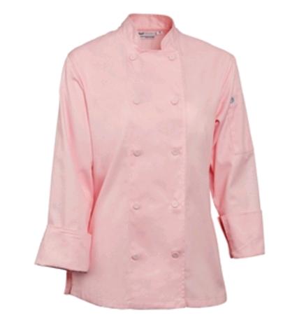Marbella Womens Executive Chefs Jacket White