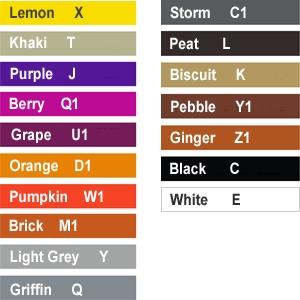 Waist Apron (40 colours)
