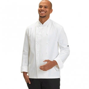 Long Sleeve 100% Cotton Chefs Jacket