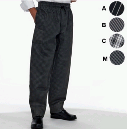 Le Chef woven trousers