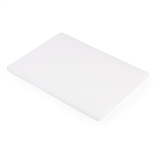 Low Density Chopping Board. White for bakery and dairy