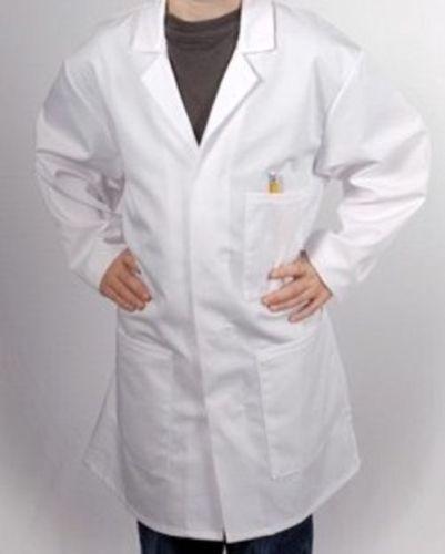Children's White 3 Pocket Lab Coat