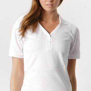 Ladies' Sophia Comfortec® V-Neck Polo Shirt