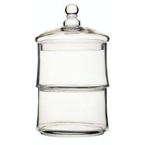 Artesà Appetiser Glass Two Tier Storage Jar