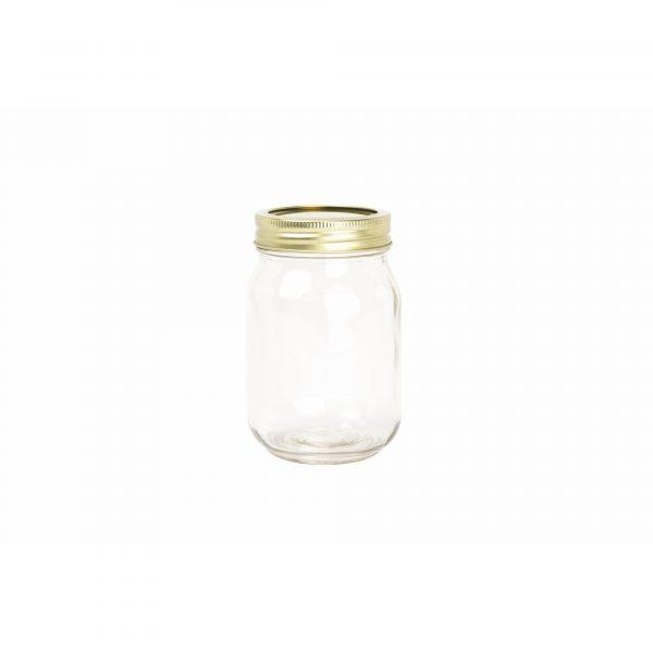 Home Made Glass 500g Preserving Jar