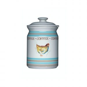 Hen House Ceramic Coffee Storage Jar