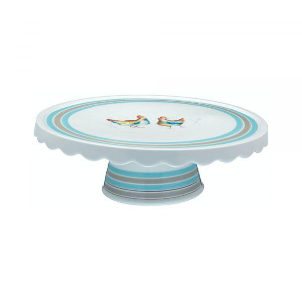 Hen House Ceramic Cake Stand