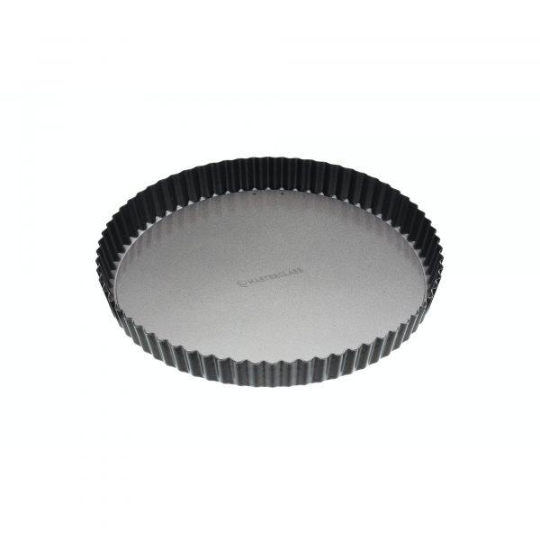 MasterClass Non-Stick 28cm Fluted Round Flan / Quiche Tin