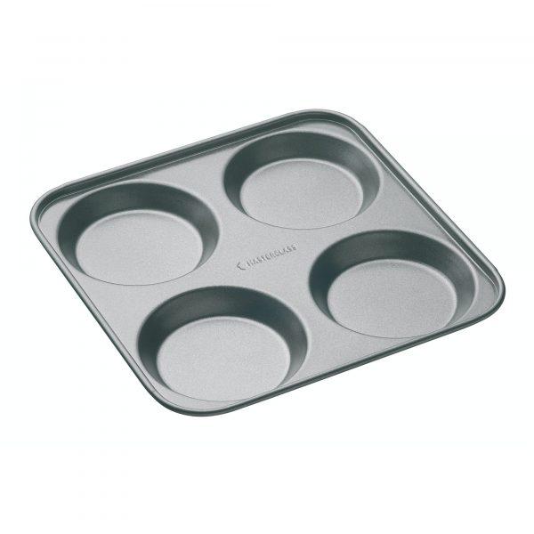 MasterClass Non-Stick 4 Hole Yorkshire Pudding Pan