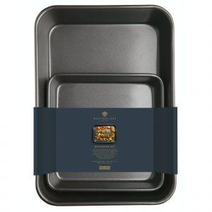 MasterClass Twin Pack - Non-Stick Roasting Pan and Baking Pan