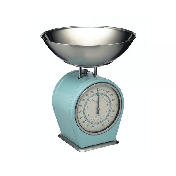 Living Nostalgia Vintage Blue Mechanical Scales