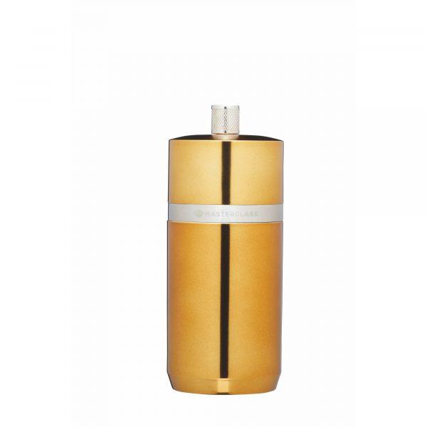 MasterClass Salt or Pepper Mill (12cm) - Brass Finish