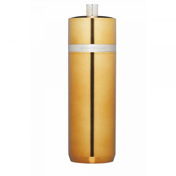 MasterClass Salt or Pepper Mill (17cm) - Brass Finish