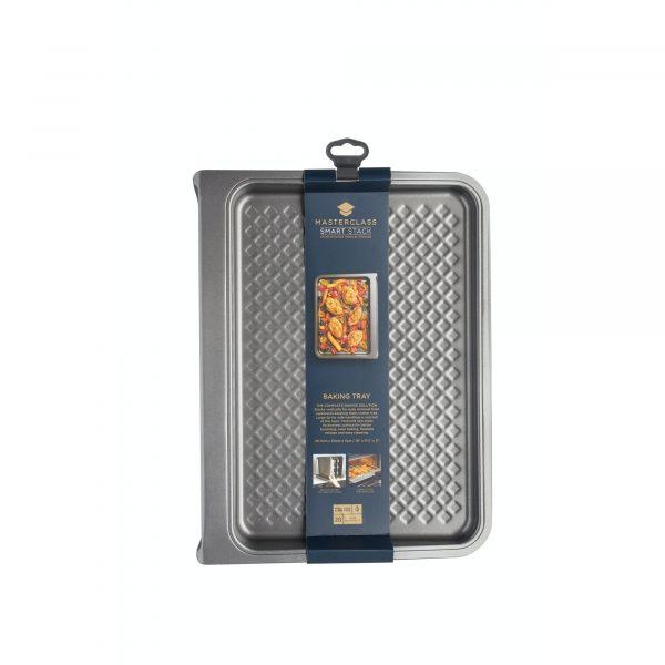 MasterClass Smart Stack Non-Stick 40.5cm x 31cm Baking Tray