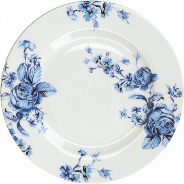 Mikasa Hampton Porcelain 19cm Blue Flower Side Plate