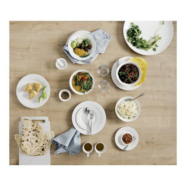 Maxwell & Williams White Basics 12 Piece Rim Dinner Set